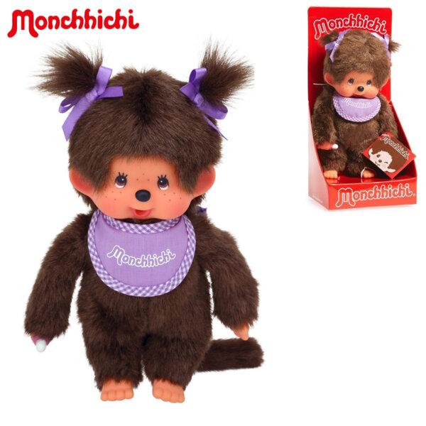 Monchhichi Плюшена маймунка Classic Girl Purple 20см 200990