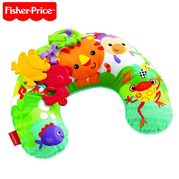 Fisher Price - Бебешка възглавничка за игра по коремче CDR52