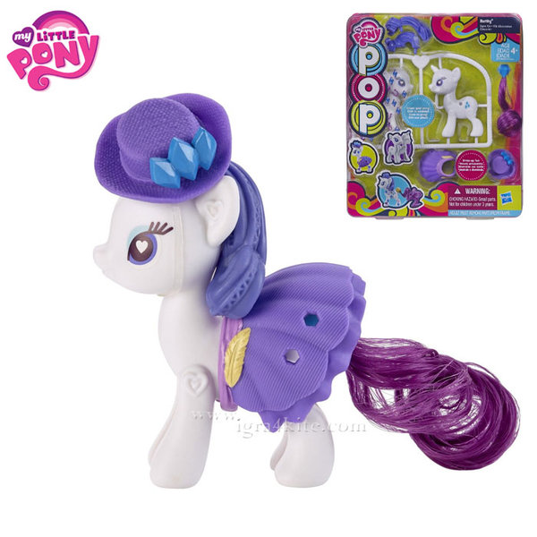 My Little Pony - Сглоби своето сладко пони Rarity B0370