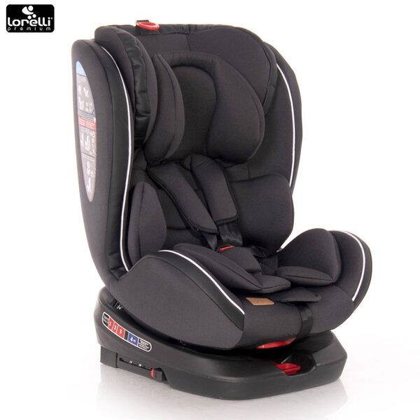 Lorelli Стол за кола NEBULA Isofix BLACK (0-36 кг) 10071382019