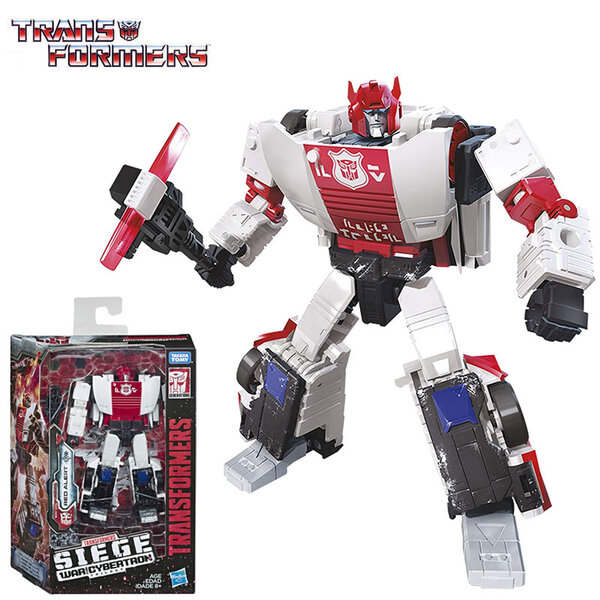 Transformers Generations War for Cybertron: Siege Deluxe Трансформърс Red Alert E3432