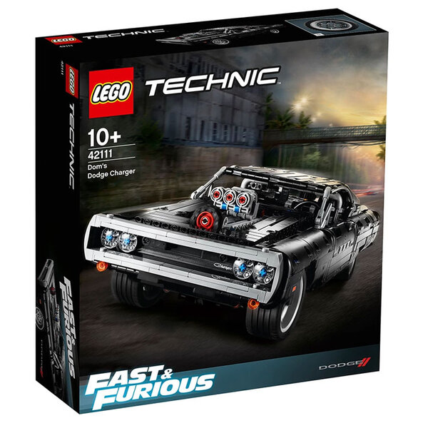 Lego 42111 Technic Dodge Charger на Дом