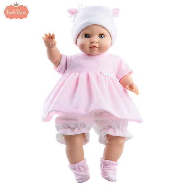 Paola Reina Кукла бебе момиче Amy, Los Manus 36см 07027
