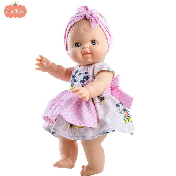 Paola Reina Los Gordis Кукла бебе момиче Elvi 34см 04086