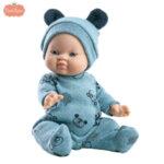 Paola Reina Los Gordis Кукла бебе момче John 34см 04087