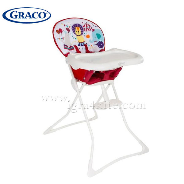 Graco - Стол за хранене Tea Time Circus G3T91CCUE