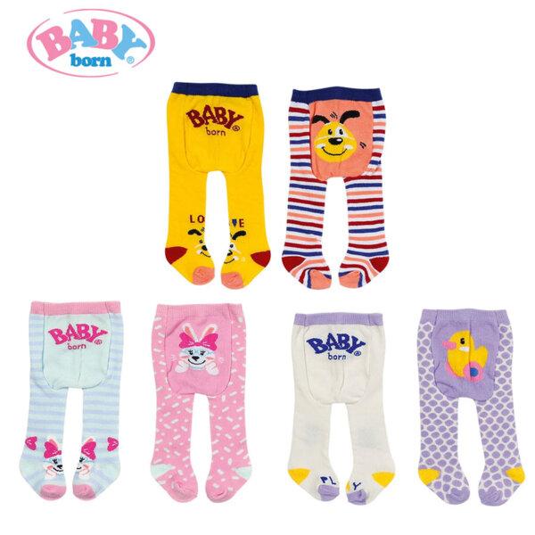 Baby Born Комплект Чорапогащник за кукла 43см Бейби Борн 2 бр 828236