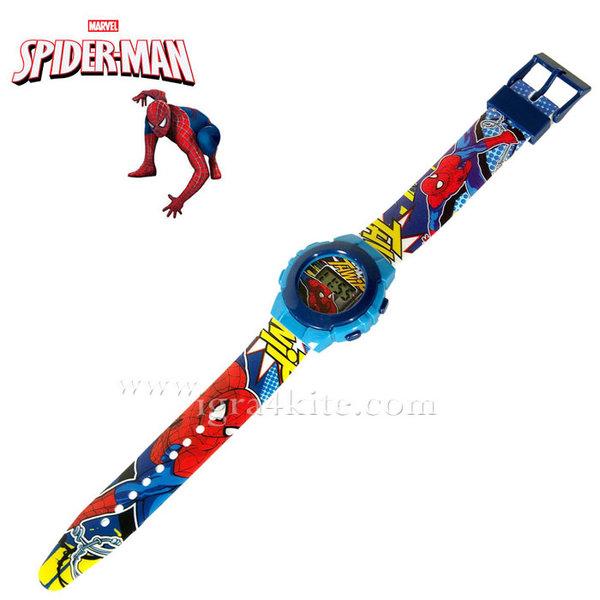 Spider-Man - Ръчен електронен часовник Спайдър Мен 28212