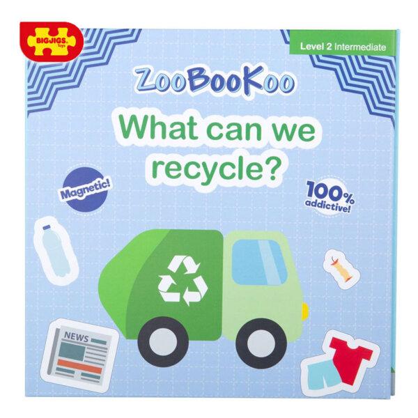 Bigjigs Магнитна книжка Уча се да рециклирам ZCC7010