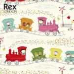 Rex London Опаковъчна хартия Парти влак26609