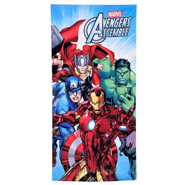 Marvel Avengers - Детска плажна кърпа Отмъстителите 173417