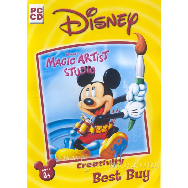 Игра за PC Disney - Мики Маус Magic Artist Studio