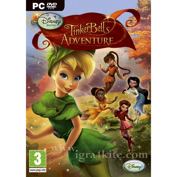 Игра за PC Disney Fairies: TinkerBell's Adventure