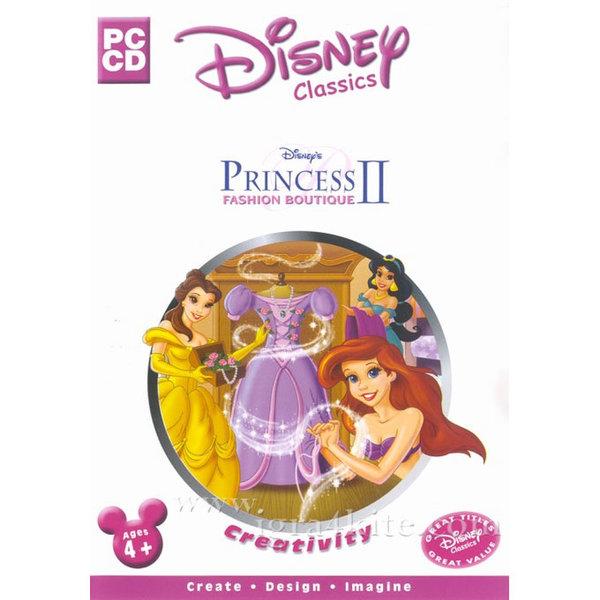 Игра за PC Disney Princess: Fashion Boutique II