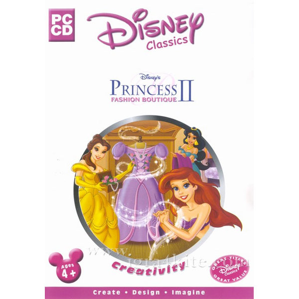 Игра за PC Disney Princess: Fashion Boutique II