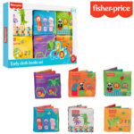 Fisher Price Комплект от 6 бр. меки книжки F0812