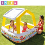 Intex - Детски надуваем басейн със сенник 57470