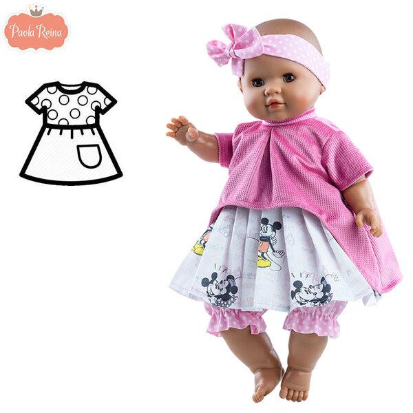 Paola Reina Комплект дрехи за кукла бебе 36см 57028