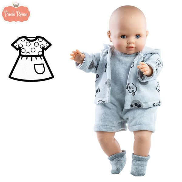 Paola Reina Комплект дрехи за кукла бебе 36см 57029