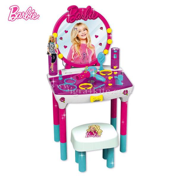 Barbie - Детска тоалетка и табуретка Барби със звук 2190