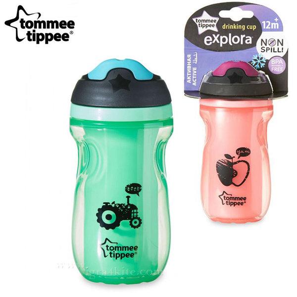 Tommee Tippee - Неразливаща се термо чаша с твърд накрайник 260ml. 12м+ 44703097