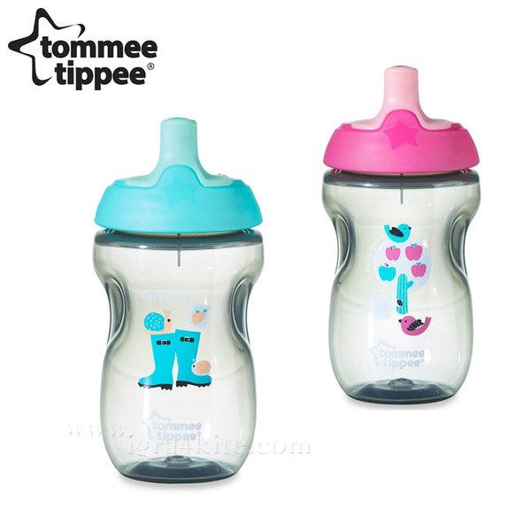 Tommee Tippee - Неразливаща се чаша със спортен накрайник 300мл 12м+ 44702097