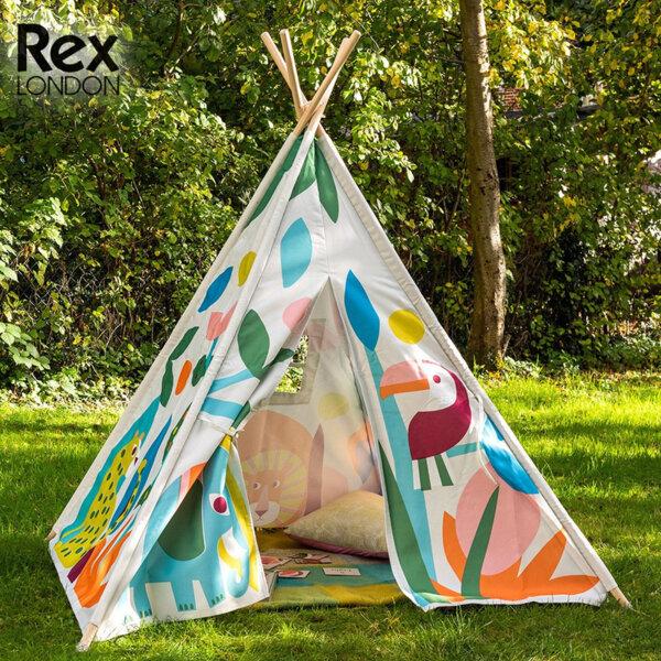 Rex London Детска палатка за игра Диви чудеса 29140