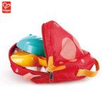 Hape Комплект сгъваема кофичка, лопатка и формичка в чанта рибка H4093