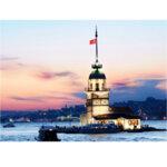 Anatolian Пъзел Момина кула Носталгия, ŞEFİK BAYRAM 1000 части P3125