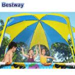 Bestway Детски сглобяем басейн Steel Pro със сенник и пръскалка 56432