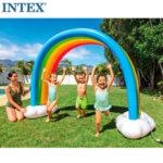 Intex Надуваема пръскалка Дъга 56597