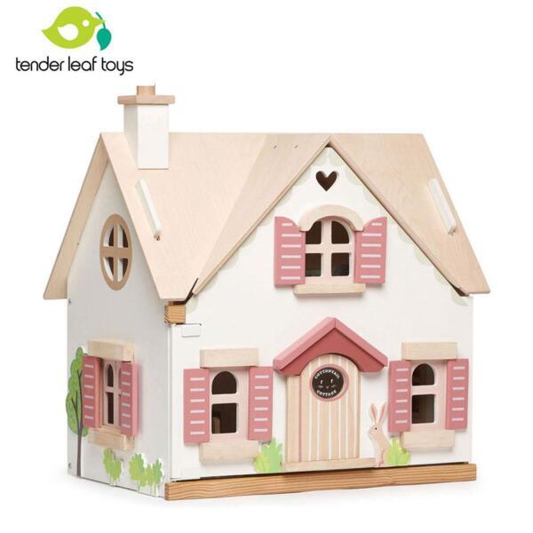 Tender Leaf Дървена къща за кукли Нашата вила TL8123