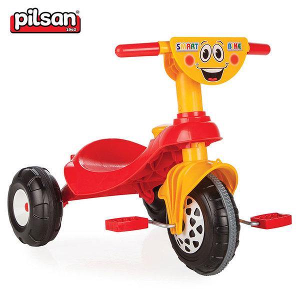 Pilsan - Детско моторче с педали Smart 07135 червен