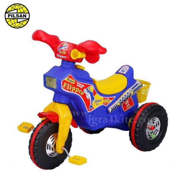 Pilsan - Детско моторче с педали Flipper 07111