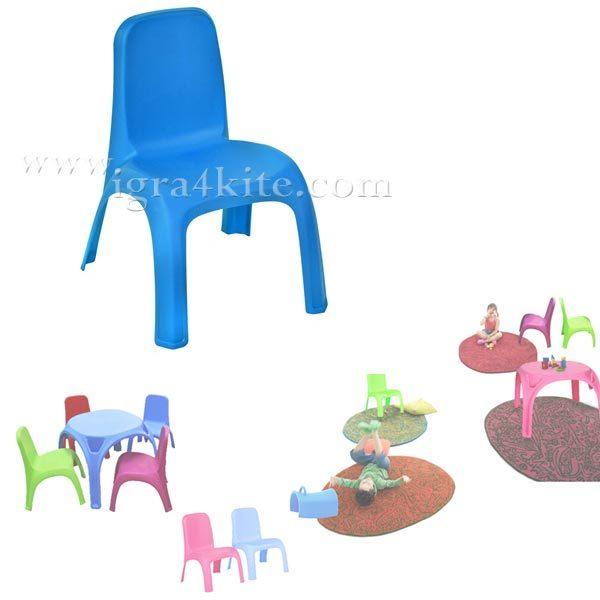 Детско столче синьо 12464