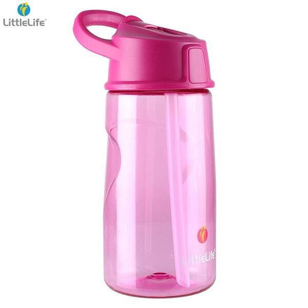 LittleLife Тританова бутилка за вода 550мл, розова L15120