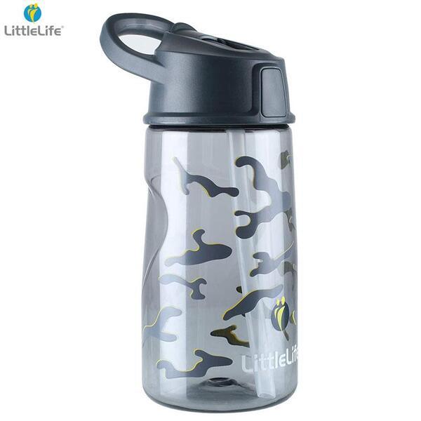 LittleLife Тританова бутилка за вода 550мл, камуфлаж L15150