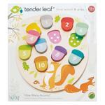 Tender Leaf Дървена образователна игра Колко са жълъдите TL8415