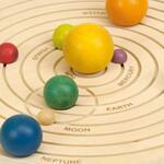 Andreu Toys Дървена 3D Слънчева система 16110