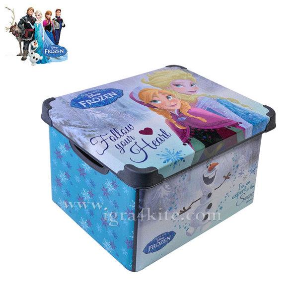 Disney Frozen - Кутия за играчки Замръзналото кралство 5л 97098