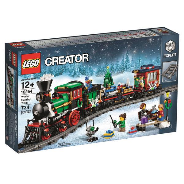 Lego 10254 Creator Expert - Зимен коледен влак