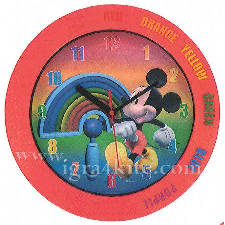Disney - Стенен часовник Мики Маус