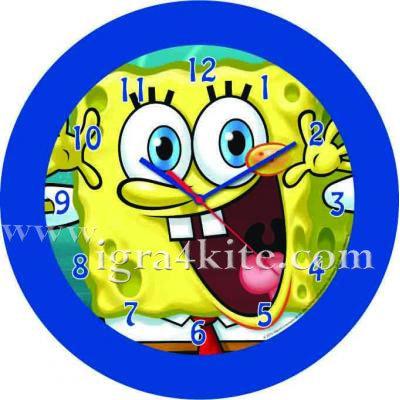 СпонджБоб - Стенен часовник SpongeBob 563120