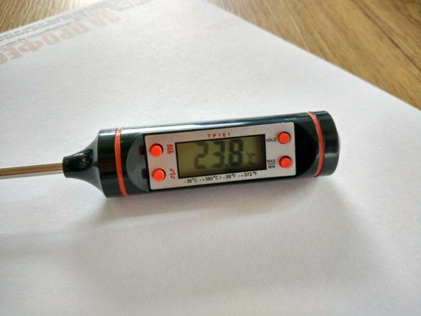 Дигитален термометър със сонда