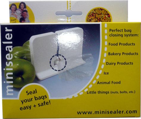 Машинка за запечатване на пакети MiniSeal
