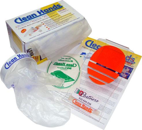 Clean-Hand Единична поставка