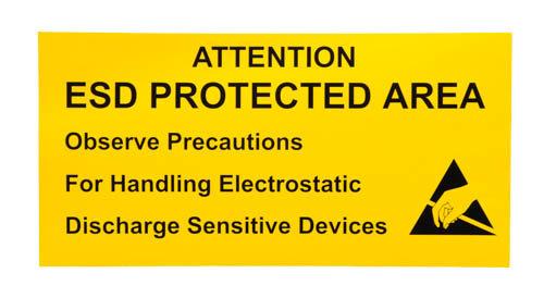 STATICTEC, ESD указателни знаци