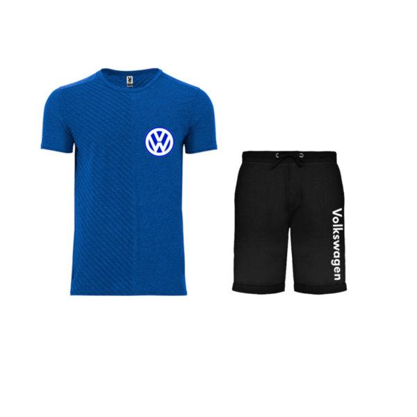 Летен спортен комплект тениска и къси гащи Volkswagen