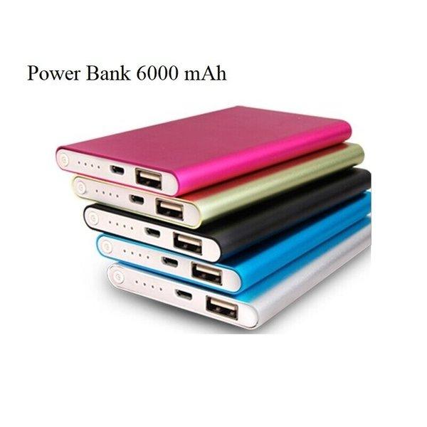 Външна батерия 6000mAh Ultra Slim Power bank