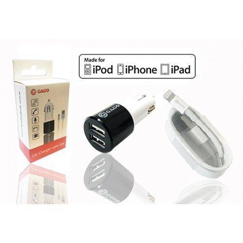 Зарядно за кола с кабел 12V Iphone